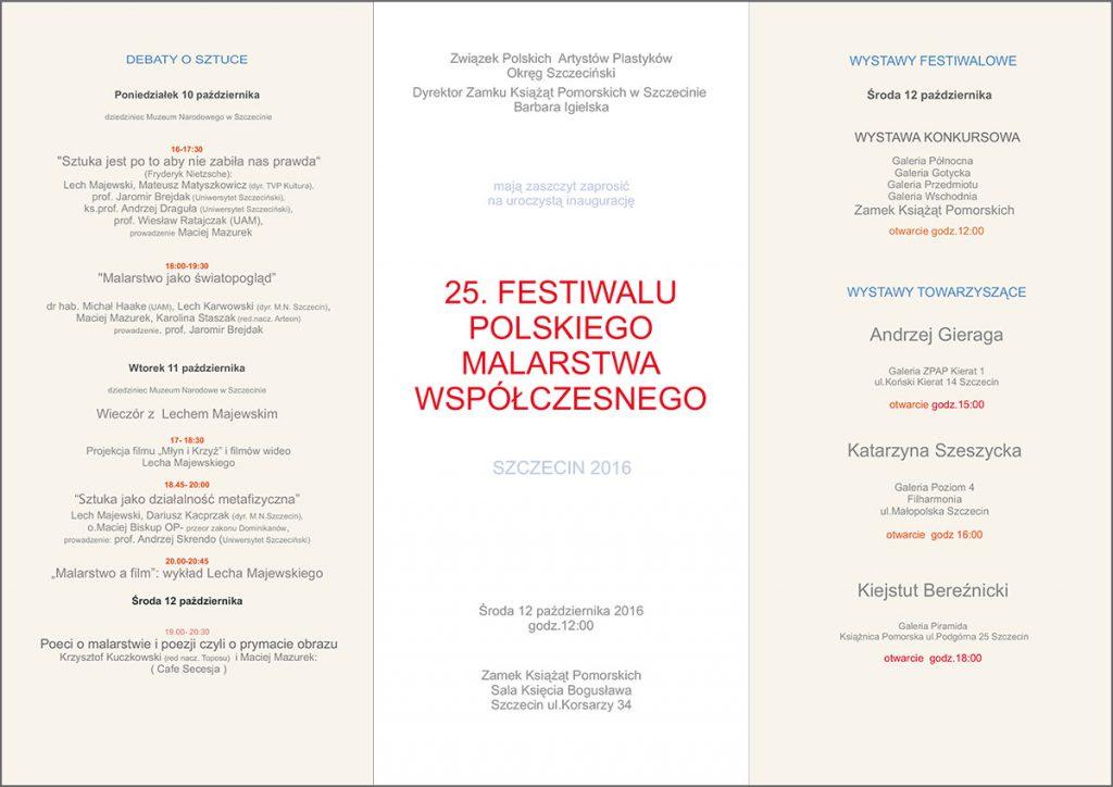 Festiwal malarstwa w Szczecinie
