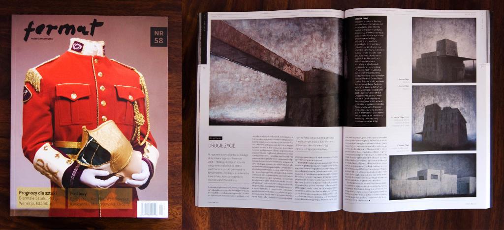 """Artykuł autorstwa Anny Kani w magazynie artystycznym """"Format"""", nr 58"""