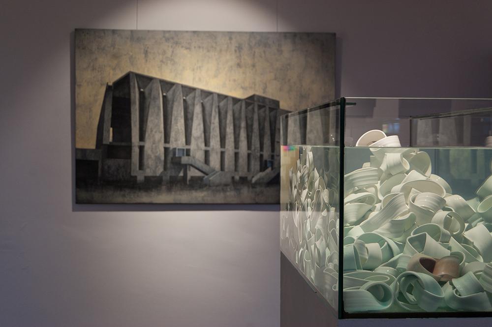 Nieobecność - Joanna Pałys (malarstwo) i Weronika Lucińska (ceramika)