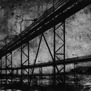 Joanna Pałys: Nokturn III, część tryptyku, sucha igła, 35,7x26,5cm, 2006/2007