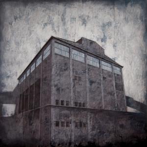 """Joanna Pałys, """"Obiekt S14"""", akryl na płótnie, 100x100cm, 2010 rok"""