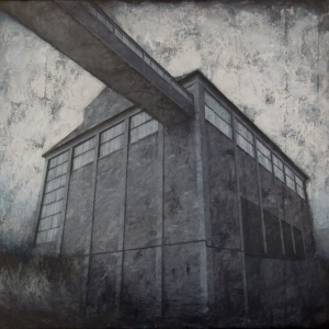 Joanna Pałys, Obiekt S19, akryl na płótnie, 100x110cm, 2010