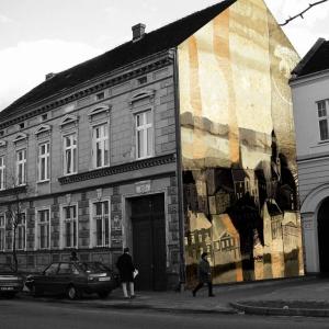 Wizualizacja projektu malarstwa ściennego, Rawicz 2007
