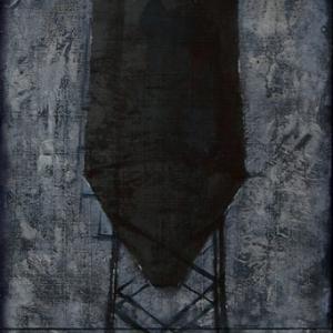 Joanna Pałys, obraz bez tytułu, technika mieszana na desce, tryptyk: 105 x 35cm, 2008r.