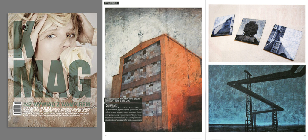 Talent numeru magazynu KMAG, listopad 2012
