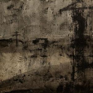 """Joanna Pałys: praca z cyklu """"Nokturny"""", 44x51cm, 2006"""