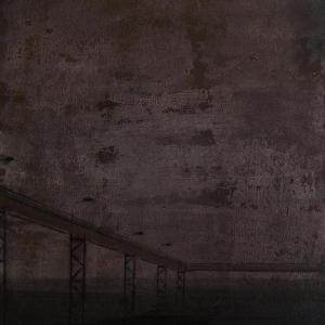 Joanna Pałys, obraz z cyklu Nokturny, akryl na tekturze,  50 x 70cm , 2007